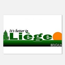 Its Better in Liege, Belgium Postcards (Package of
