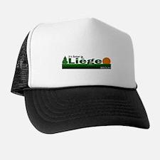 Its Better in Liege, Belgium Trucker Hat