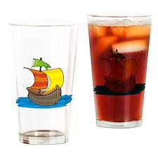 Columbus - Drinking Glass