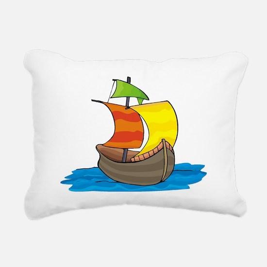 Columbus - Rectangular Canvas Pillow