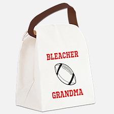Bleacher Grandma (football) Canvas Lunch Bag