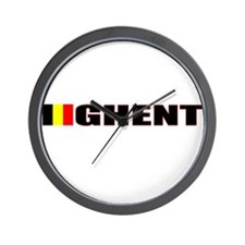 Ghent, Belgium Wall Clock
