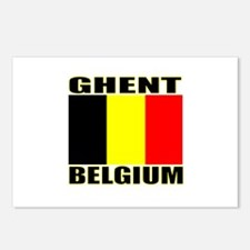 Ghent, Belgium Postcards (Package of 8)