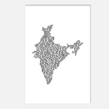 Word India Postcards (Package of 8)