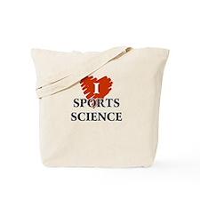 I Love Sports Science Tote Bag