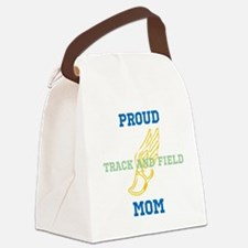 Track and Field Mom Canvas Lunch Bag