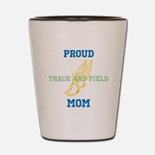 Track and Field Mom Shot Glass