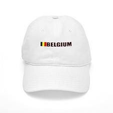 Belgium Flag Baseball Cap
