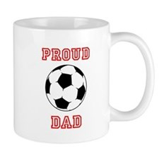 Proud Soccer Dad Mugs