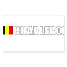 Charleroi, Belgium Rectangle Decal