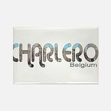 Charleroi, Belgium Rectangle Magnet