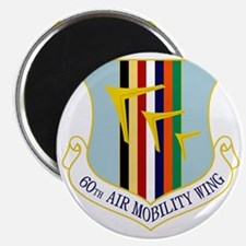 60th Air Mobility Wing Magnet