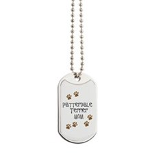 Patterdale Terrier Mom Dog Tags