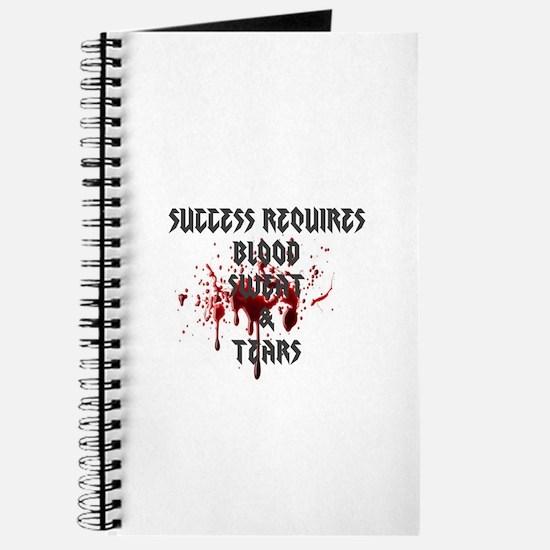Blood, Sweat, Tears Journal