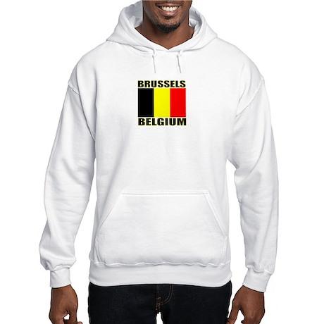 Brussels, Belgium Hooded Sweatshirt