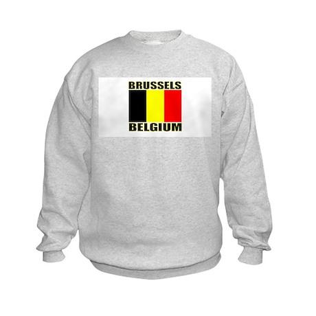 Brussels, Belgium Kids Sweatshirt