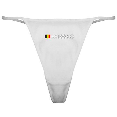Brussels, Belgium Classic Thong