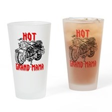 HOT GRAND-MAMA Drinking Glass