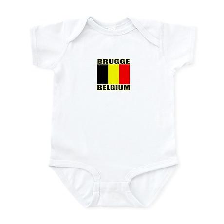 Brugge, Belgium Infant Bodysuit