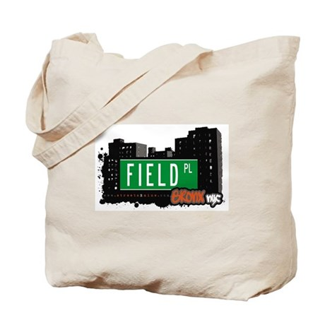 Field Pl, Bronx, NYC Tote Bag