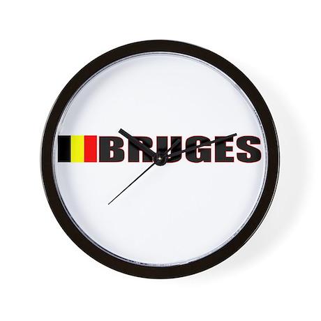 Bruges, Belgium Wall Clock