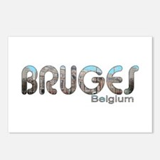 Bruges, Belgium Postcards (Package of 8)