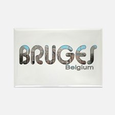 Bruges, Belgium Rectangle Magnet