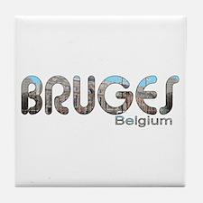 Bruges, Belgium Tile Coaster