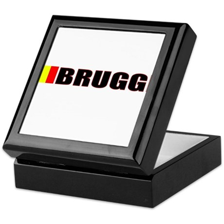 Brugge, Belgium Keepsake Box