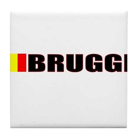 Brugge, Belgium Tile Coaster