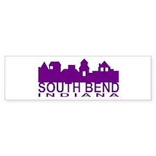 South Bend Indiana Bumper Bumper Sticker