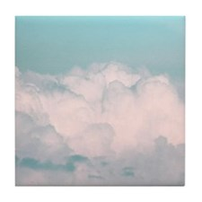 Aqua Blue Abstract Sky Clouds Day Time Photo Photo