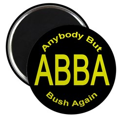 Anybody But Bush Again Magnet