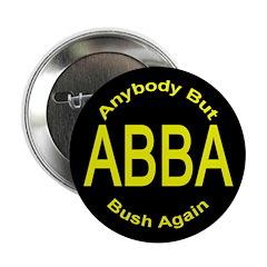 Anybody But Bush Again Button (100 pack)