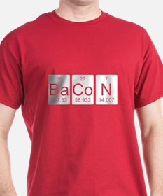 Bacon Science Chemistry T-Shirt