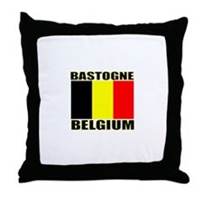 Bastogne, Belgium Throw Pillow