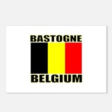 Bastogne, Belgium Postcards (Package of 8)