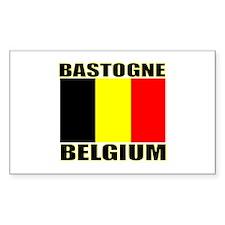 Bastogne, Belgium Rectangle Decal