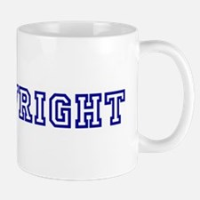 Mrs. Wright Mug