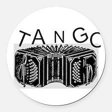 Tango Round Car Magnet