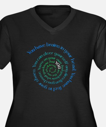 Oh, The Places You'll Go - Dark Plus Size T-Shirt