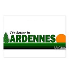 Its Better in Ardennes, Belgi Postcards (Package o