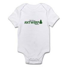 Visit Scenic Antwerp, Belgium Infant Bodysuit