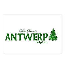 Visit Scenic Antwerp, Belgium Postcards (Package o