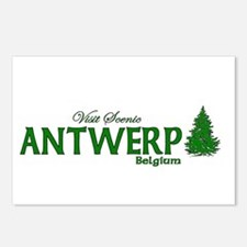 Visit Scenic Antwerp, Belgium Postcards (Package o