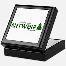 Visit Scenic Antwerp, Belgium Keepsake Box