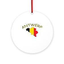 Antwerp, Belgium Ornament (Round)
