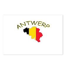 Antwerp, Belgium Postcards (Package of 8)