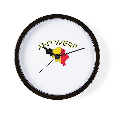 Antwerp, Belgium Wall Clock