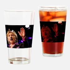 Hitlery Drinking Glass